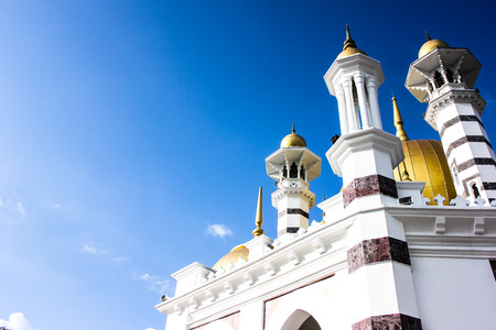 Ubudiah Mosque In Royal Town of Kuala Kangsar in Perak, Malaysia