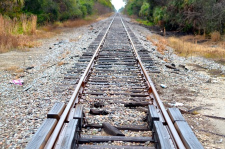 Endless Railroad Track