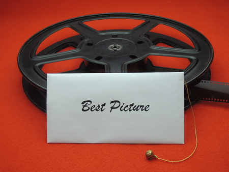 Envelope with best picture for a movie award