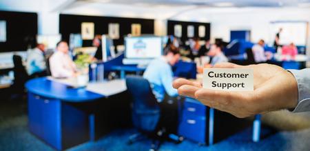 centre de soutien à la clientèle prête pour l'entretien des appels entrants des clients