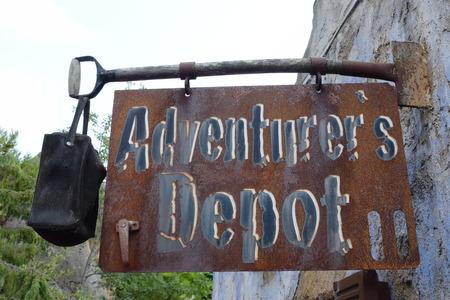 adventurers: Adventurers depot - last shop before the wilderness.