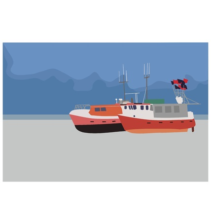 fishing boats: fishing boats on the beach