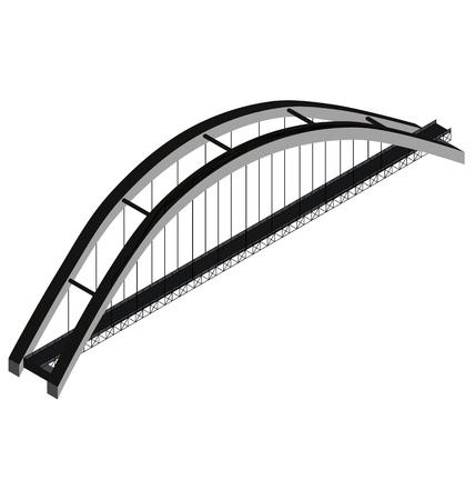 Isometric arch bridge