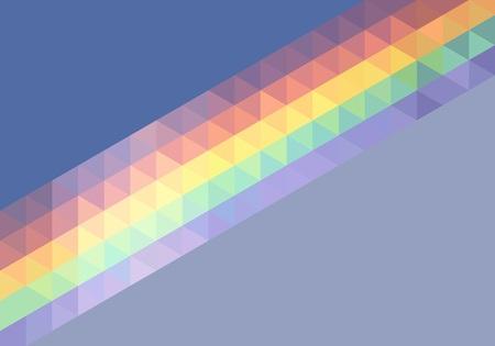 rainbow abstract: Background abstract polygon rainbow, vector