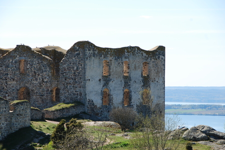 17th: Brahehus ruins built in 17th century built by the Swedish lake V�ttern, destroyed by fire 1708