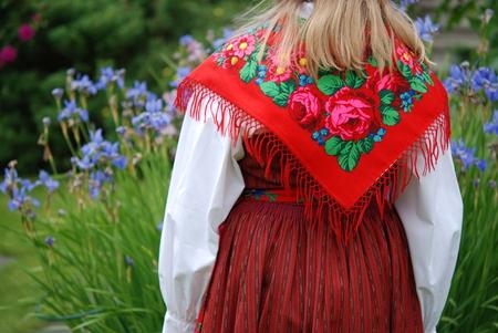 swedish: Traditional Swedish costume at Midsummer