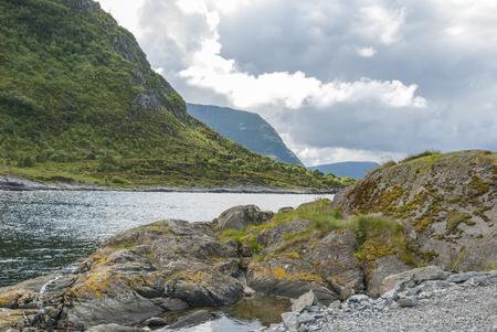 Landscape outside Alesund in Norway