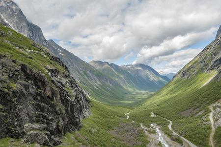 Travel Norway at Trollstigen