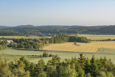 yeloow: Farms and fields in rural Sweden