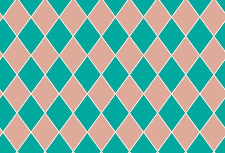 Seamless pattern geometric quadrangle, vector Illustration