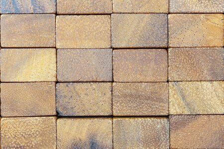 Wooden blocks macro background 写真素材