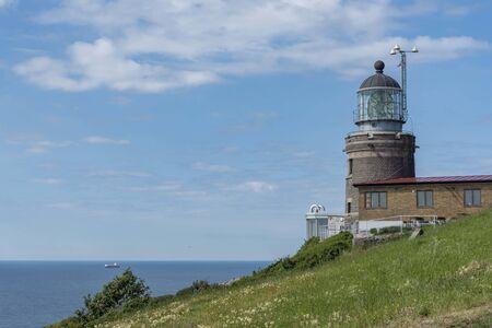 Kullens lighthouse in Sweden 写真素材