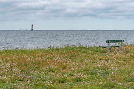 Landscape by the sea at Viken in Sweden 写真素材