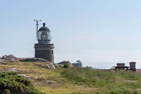 Lighthouse at Kullaberg nature reserve 写真素材