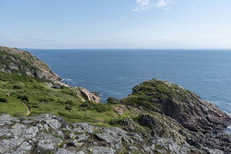 Cliffs at Kullaberg nature reserve in Sweden