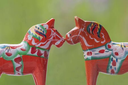 Swedish horses in love with diverseness
