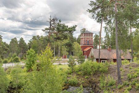 Historic mining site in Sala in Sweden