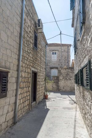 Trogir historic town in Croatia