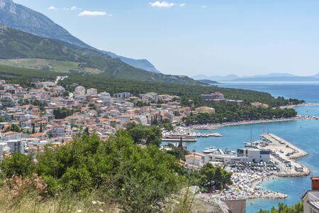 Baska Voda in Croatia