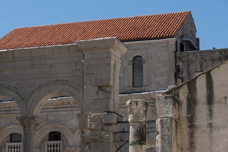 Roman palace world heritage in Split Croatia