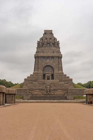 Monument Volkerschlachtdenkmal in Leipzig in Germany