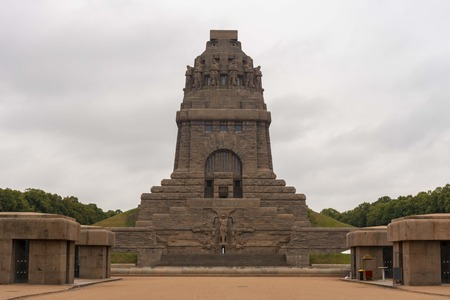 Volkerschlachtdenkmal monument in Leipzig Germany