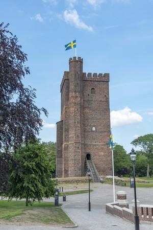 Medieval tower Karnan in Helsingborg Sweden
