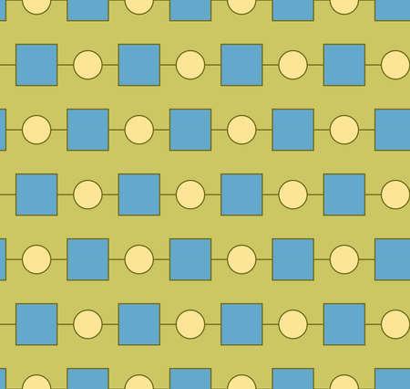 Seamless pattern geometric shape vector Ilustrace