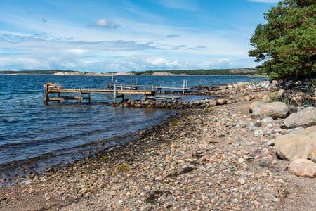 Summer at island Galto in Sweden