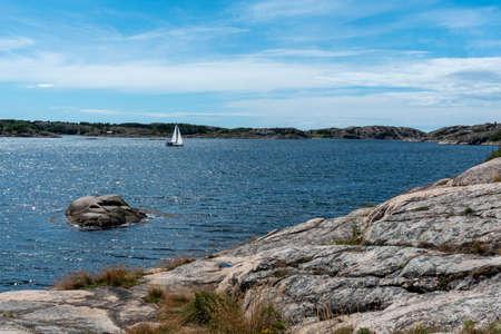 Summer landscape at Reso in Sweden