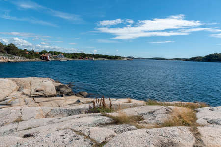 View from Reso island in Sweden