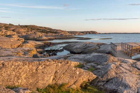 Bathing site at Slatterna at Orust in Sweden Reklamní fotografie