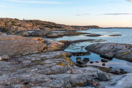 Sunset at Orust in Sweden Reklamní fotografie