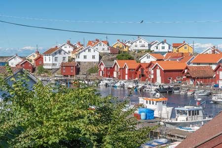 Gullholmen at the Swedish west coast Reklamní fotografie