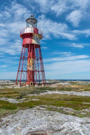 Maseskar lighthouse built in 1865 in Sweden Reklamní fotografie
