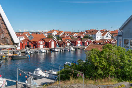 Gullholmen village at Swedish west coast