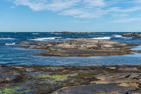 Ocean west of Orust in Sweden