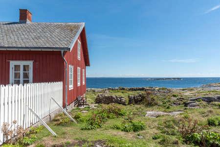 Sea view at Maseskar in Sweden