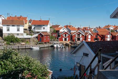 Summer at Gullholmen in Sweden Reklamní fotografie