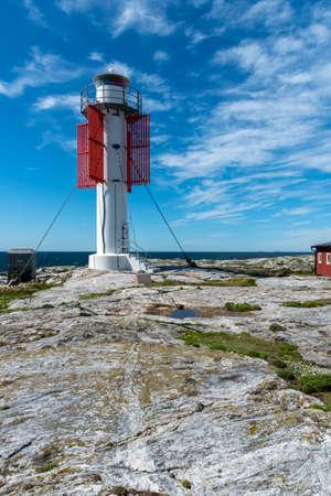 Modern lighthouse at Maseskar in Sweden Reklamní fotografie