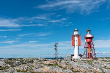 Summer at Maseskar lighthouse in Sweden