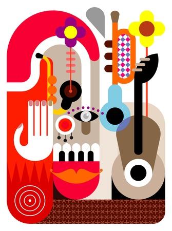 music festival: Music Festival - abstract