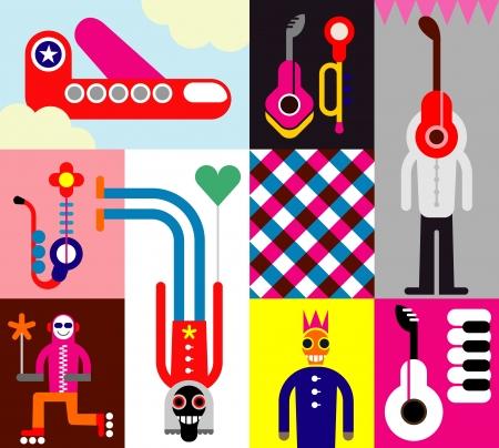 Festival de musique Banque d'images - 13875413