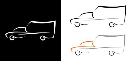 Emergency ambulance car - isolated vector icon. Vector
