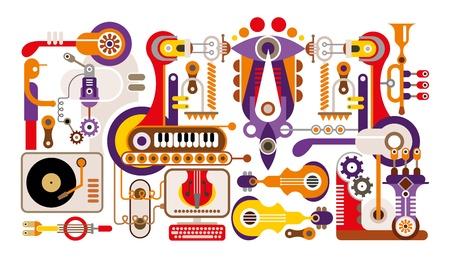 bot: Musical instrument factory