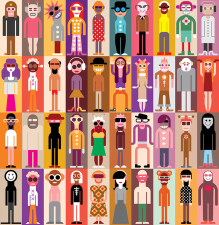 collectives: People Portraits  Illustration