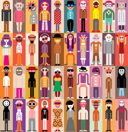 People Portraits  Illustration
