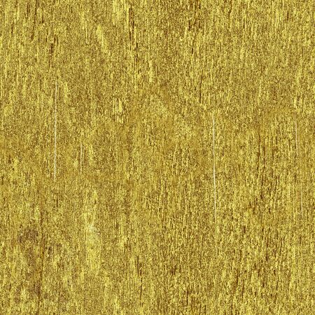 Gilded wooden board with cracks and roughness, seamless golden pattern, creative background