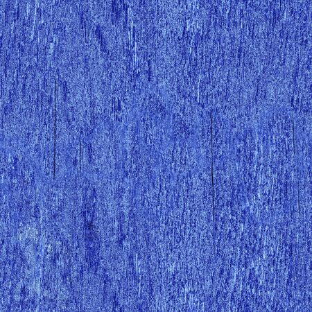 Blue wooden board with cracks and roughness, seamless pattern, use Hue / Saturation to change the color Фото со стока