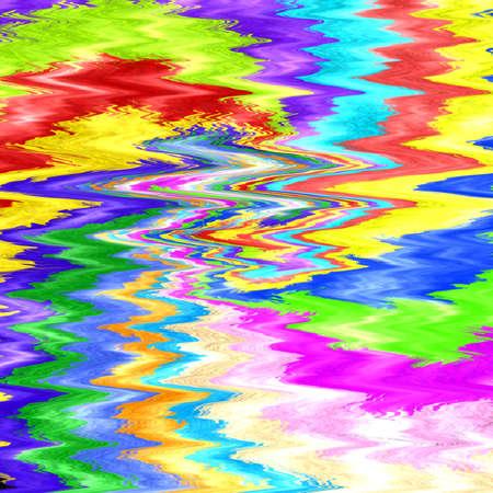 Creative bright abstract background, trendy swirl rainbow pattern, tie dye design Фото со стока